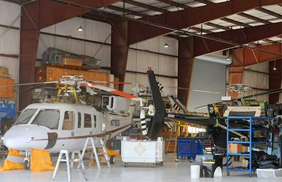 Helicopter Facility in Fillmore, California